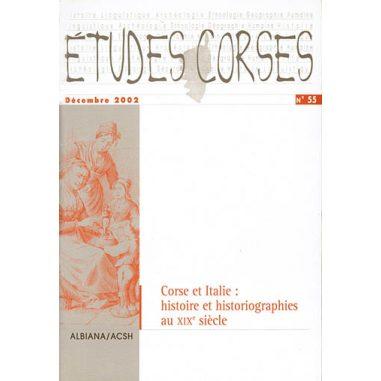 Études corses n° 55