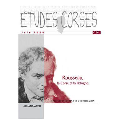 Études corses n° 66