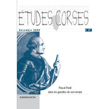 Études corses n° 67