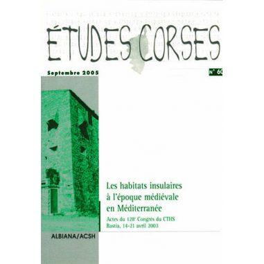 Études corses n° 60
