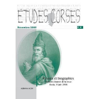 Études corses n° 69