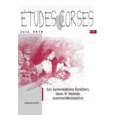 Études corses n° 70
