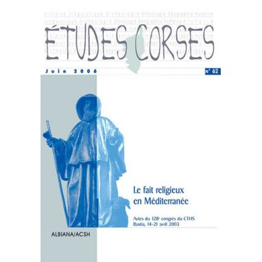 Études corses n° 62