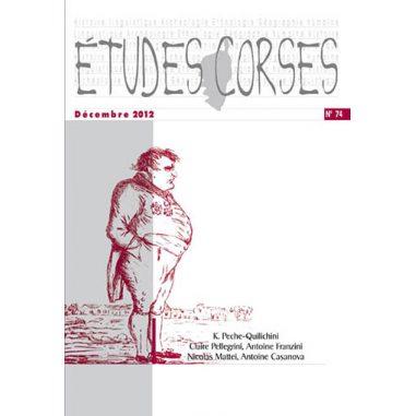 Études corses n° 74