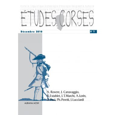 Études corses n° 71