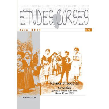 Études corses n° 72