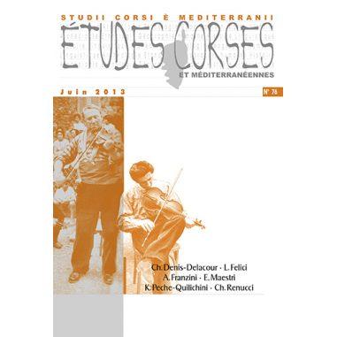 Études corses n° 76