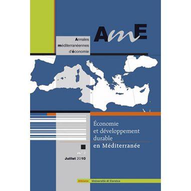 Annales méditerranéennes d'économie n° 2