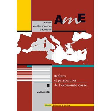 Annales méditerranéennes d'économie n° 1