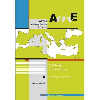 Annales méditerranéennes d'économie n°4