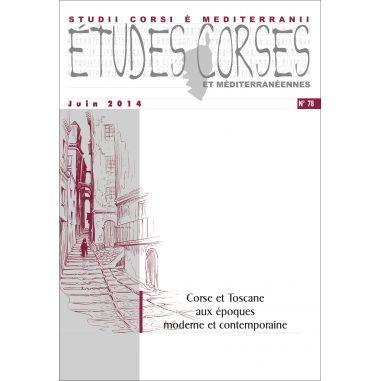 Études corses n° 78