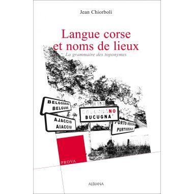 Langue corse et noms de lieux