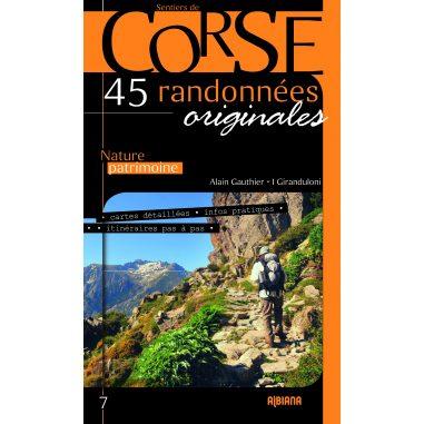 Corse, 45 randonnées originales