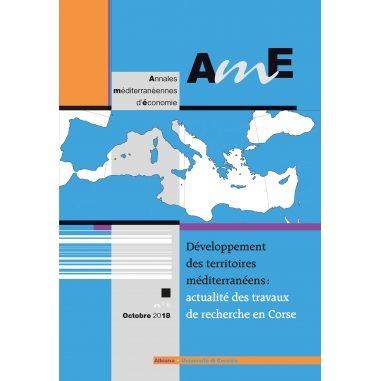 Annales méditerranéennes d'économie n°5