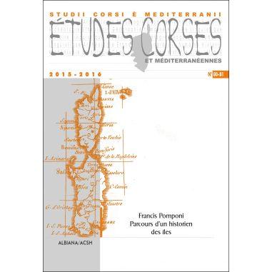 Études corses n° 80-81