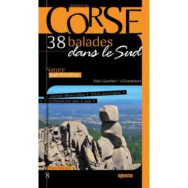 38 balades dans le Sud de la Corse